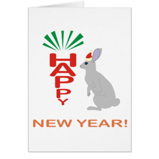Colección del Año Nuevo con la tarjeta de encargo