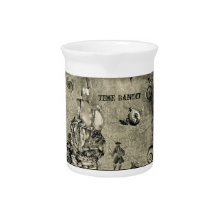 Colección del bandido del tiempo jarra de beber