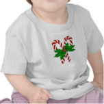 Colección del bastón de caramelo camiseta