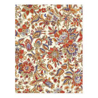 colección del batik no.1 tarjetas postales