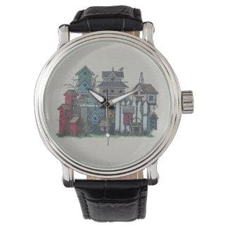 Colección del Birdhouse Reloj