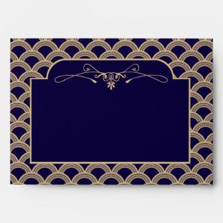 Colección del boda de Gatsby del art déco de los Sobre