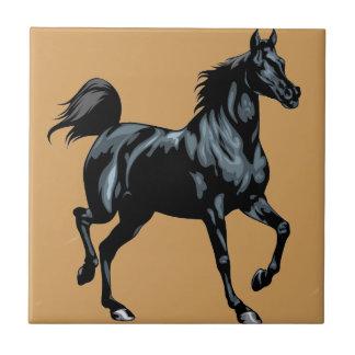 Colección del caballo azulejo cuadrado pequeño