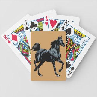 Colección del caballo cartas de juego