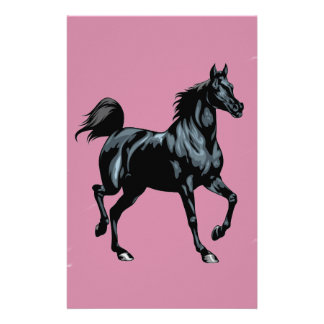 Colección del caballo papelería