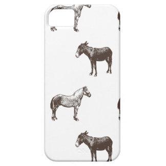 Colección del caballo y del burro de Emma Janeway iPhone 5 Funda