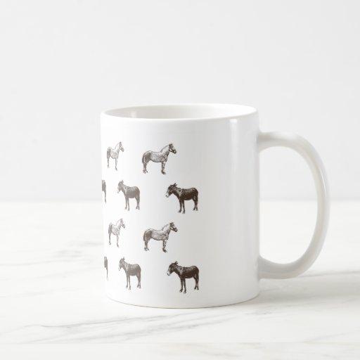 Colección del caballo y del burro de Emma Janeway Taza