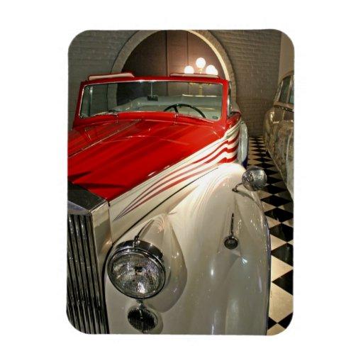 Colección del coche en la fundación de Liberace y Iman Flexible
