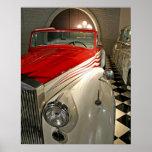Colección del coche en la fundación de Liberace y Posters