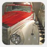 Colección del coche en la fundación de Liberace y Colcomanias Cuadradass