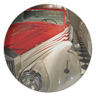 Colección del coche en la fundación de Liberace y Plato Para Fiesta