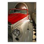 Colección del coche en la fundación de Liberace y Tarjeta