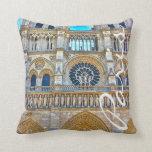 Colección del diseñador de Notre Dame Almohadas