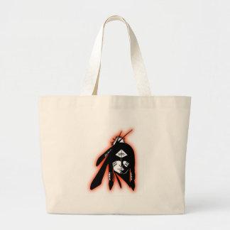 Colección del diseño de SWHS74 IndianLogo Bolsa Tela Grande