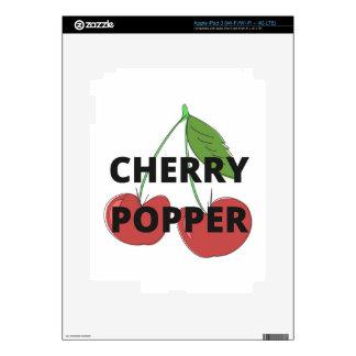 Colección del ejemplo del diseño del humor de pegatinas skins para iPad 3