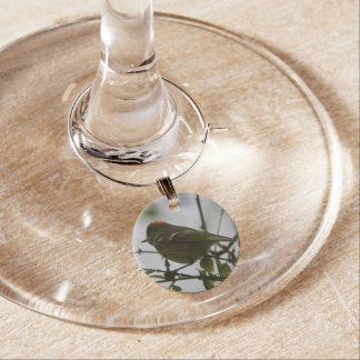 Colección del encanto del vino - poco Birdy Identificadores De Copas