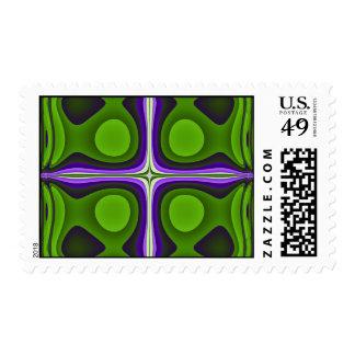 Colección del fractal 1057-777 sello