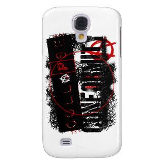 Colección del Grunge de la anarquía de la conformi Funda Para Galaxy S4
