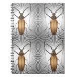 Colección del insecto - clan de la cucaracha libreta