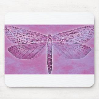 Colección del insecto - libélula púrpura tapete de ratones