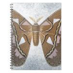 Colección del insecto - polilla cuadernos