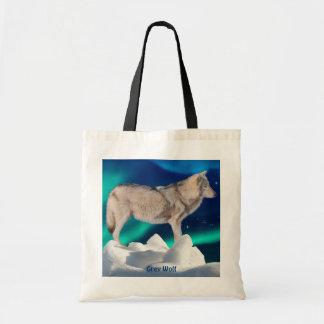 Colección del lobo gris, del hielo, de la aurora y bolsa