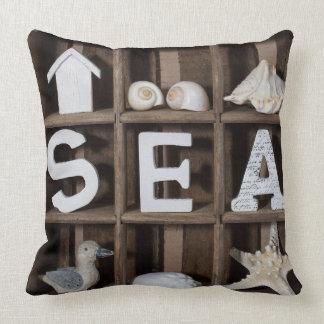Colección del mar cojin