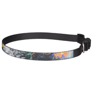 Colección del mascota - cuello abstracto colorido collares para perros
