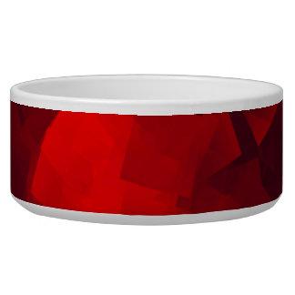 Colección del mascota - cuenco rojo de la comida comedero para mascota