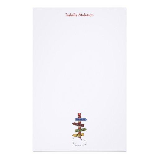 Colección del navidad · Placas de calle de Polo No Papelería Personalizada