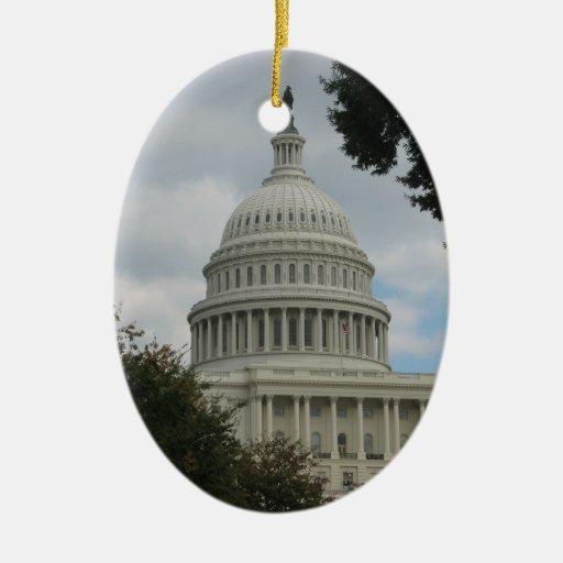 Colección del ornamento del Washington DC Adorno De Reyes