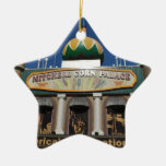 Colección del palacio del maíz adorno de cerámica en forma de estrella