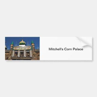 Colección del palacio del maíz pegatina para auto