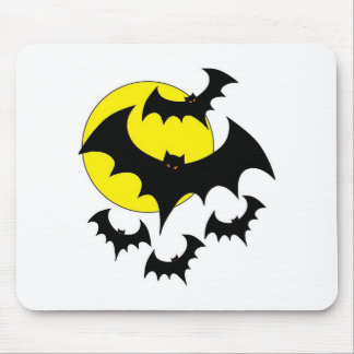 Colección del palo de Halloween Mousepads