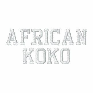 Colección del personalizado de Africankoko Chaqueta Bordada De Entrenamiento