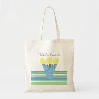 Colección del ramo de la flor bolsa tela barata