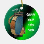 Colección del regalo de los golfistas ornatos
