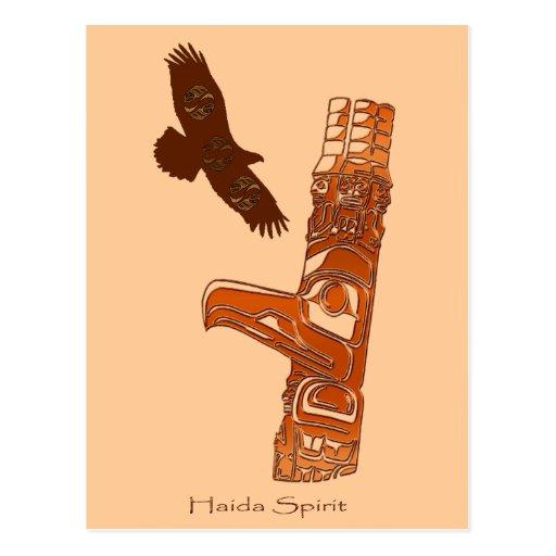 Colección del regalo del ALCOHOL del HAIDA Tarjeta Postal