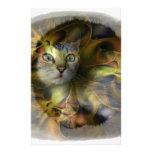 Colección del regalo del gatito del espacio del de papelería de diseño