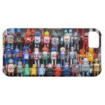 Colección del robot del juguete de la lata del hie