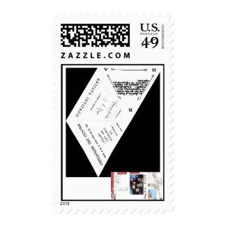 Colección doc. artistico, 1. stamp