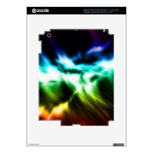 Colección electrónica 4 de las pieles iPad 3 pegatina skin