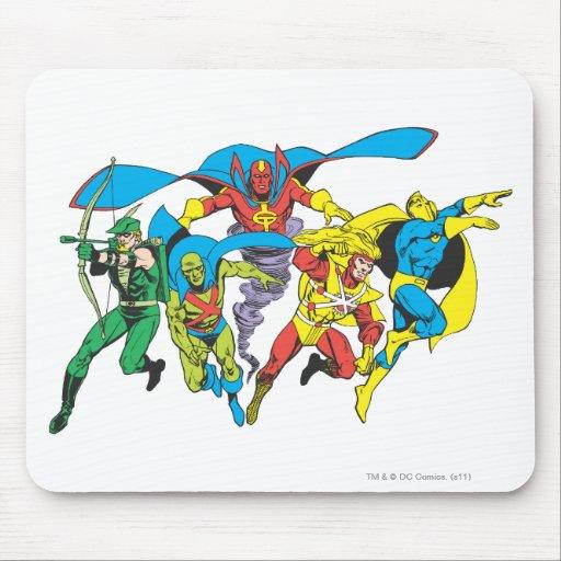 Colección estupenda 10 de Powers™ Alfombrillas De Ratón
