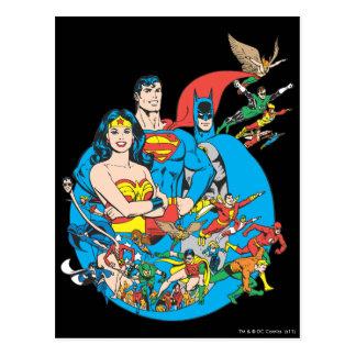 Colección estupenda 1 de Powers™ Postales