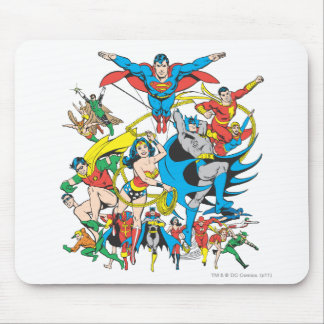 Colección estupenda 4 de Powers™ Alfombrilla De Ratón
