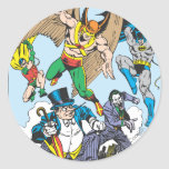 Colección estupenda 9 de Powers™ Pegatina Redonda