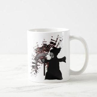 Colección fantasmagórica del parca taza de café