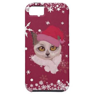 Colección feliz del navidad de Catmas Funda Para iPhone SE/5/5s
