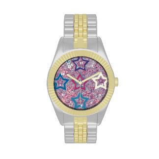 Colección fina de la estrella relojes de mano