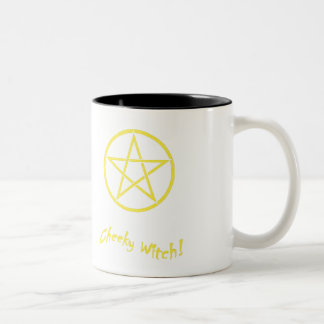 Colección fresca de la estrella de la bruja taza de dos tonos
